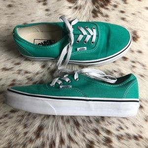 Vans Shoes - Vans Authentic shoes - Seafoam Green Sz 7.5